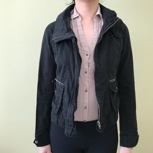 Jackets & Blazers - Black Utility Jacket